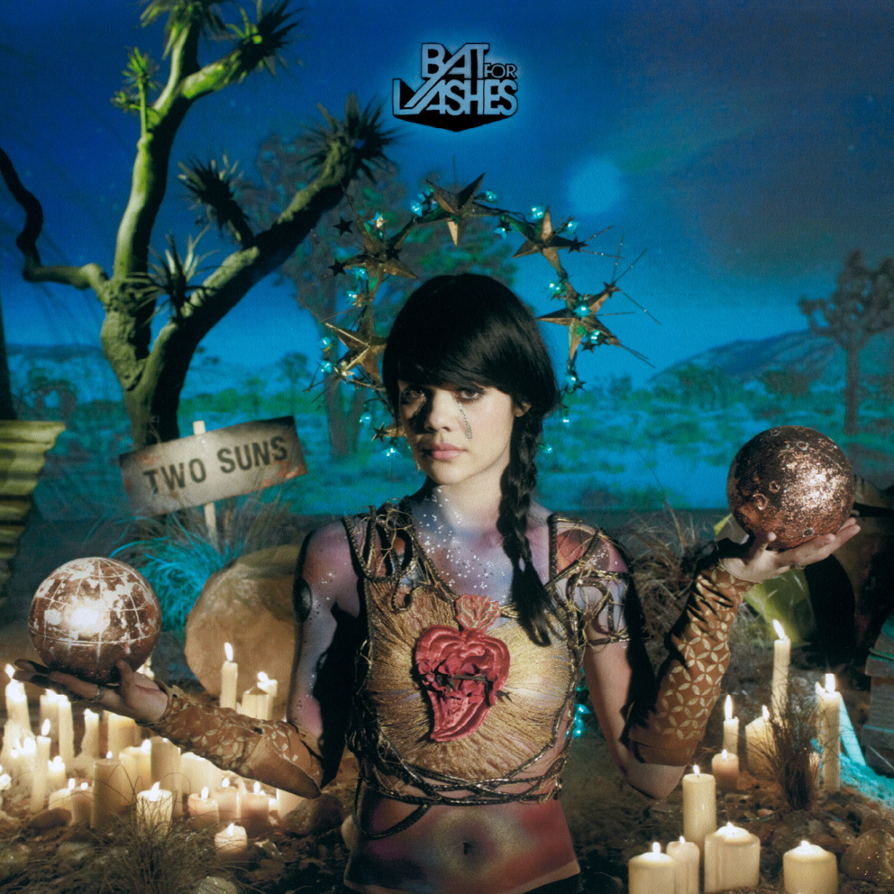 Bat for Lashes Two Suns Album Cover
